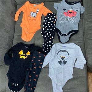 Lot for Halloween 3-6 months